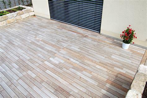 terrasse robinie terrasse aus robinienholz stadtvilla dresden