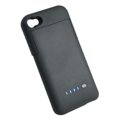 external charger for iphone 4 external battery 1900mah for apple iphone 4s black