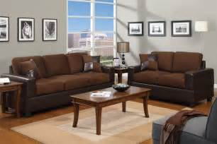 chocolate brown sofa and loveseat combination huntington
