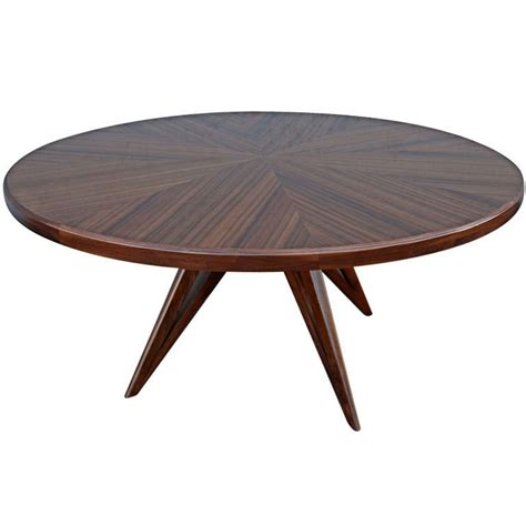 custom leg wood dining table for eight for sale