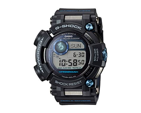 G Shock Ga 1000b Blue Black g shock master of g frogman gwf d1000b 1jf