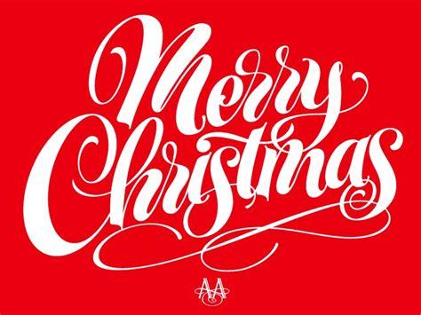 art  hand lettering merry christmas