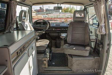 Vanagon Westfalia Interior by 1989 Volkswagen Vanagon Westfalia German Cars For Sale