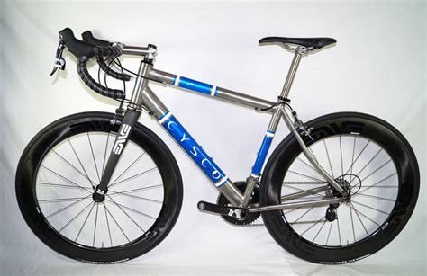 Handmade Titanium Bicycles - found custom stiff yet comfortable titanium road bike