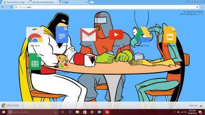 chrome themes cartoons cartoon network chrome themes themebeta