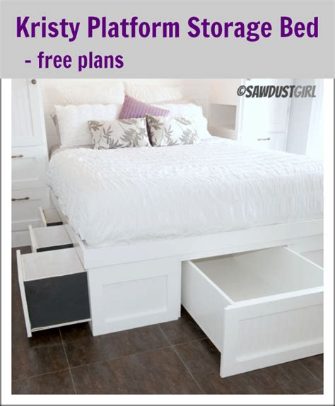 diy platform bed with storage how to build a queen size platform bed with storage