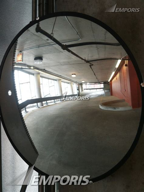 Parking Garage Mirrors by Interiorcarpark Safety Mirror In The Parking Garage