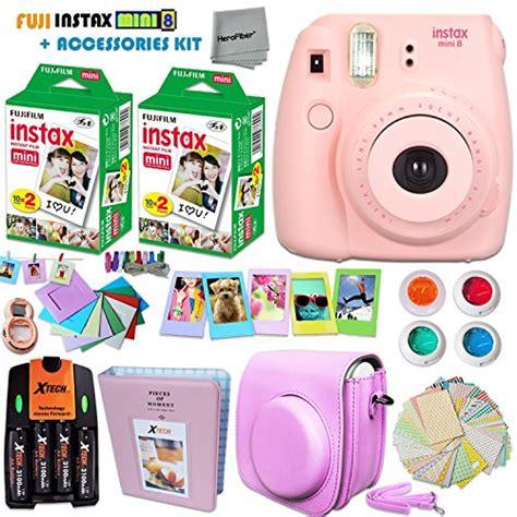 fuji accessories fujifilm instax mini 8 pink accessories kit for