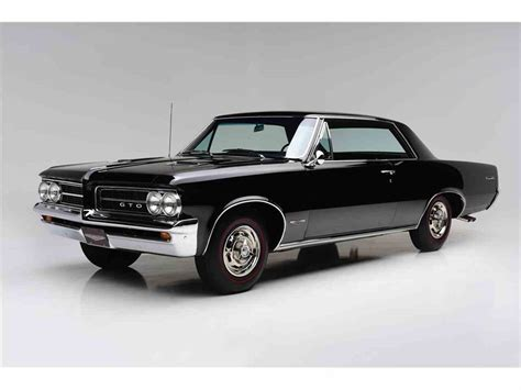 Pontiac Gto 1964 For Sale by 1964 Pontiac Gto For Sale Classiccars Cc 1047636