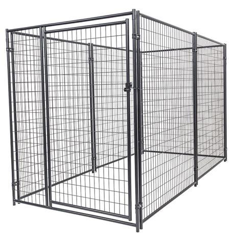 heat l for dog kennel lucky dog 6 ft h x 5 ft w x 10 ft l modular kennel