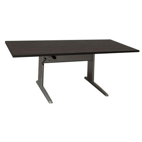 used adjustable height desk ergotech used 30x60 adjustable height table