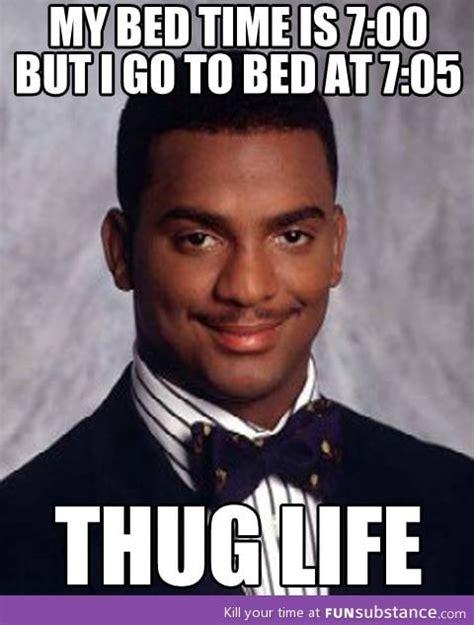 Carlton Meme - serious thug life funsubstance