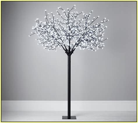 white twig christmas tree with lights home design ideas