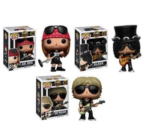 guns n roses figures welcome to the funko manufacturer to release guns n