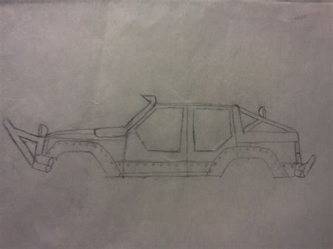 lifted jeep drawing xj drawings jeep forum