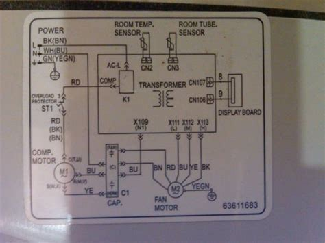 voltas split ac wiring diagram circuit and schematics