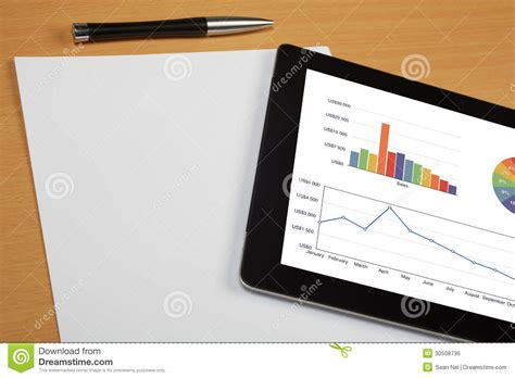 How To Make Your Own Pen And Paper Rpg - tablet computer royalty free stock image image 30508736
