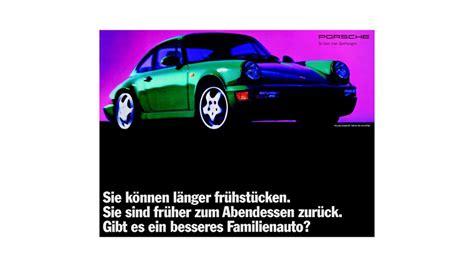 Porsche Anzeige by Schlichte Sch 246 Nheit