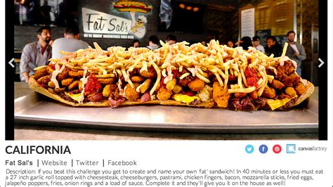 food challenges 50 food challenges in 50 states anyone feel like an 8