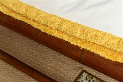 Vintage Palm Obi vintage bamboo daybed for sale at 1stdibs