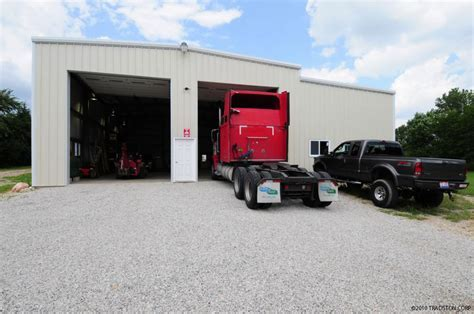 Metal Building Truck Garages, Steel Truck Garage Buildings