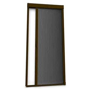 shop larson brownstone retractable screen door actual 39