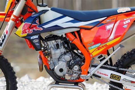 motocross mag photos les ktm enduro quot factory quot 2016 motocross enduro