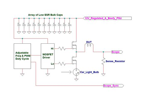electronic project with inductor inductor saturation tester alternative route to dump the excess energy page 1
