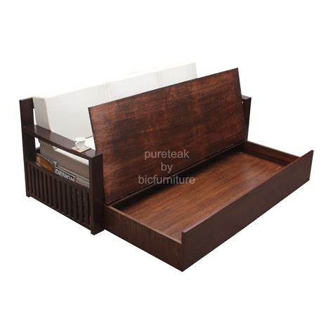 Wood Sofa Bed Crowdbuild For Wooden Sofa Bed