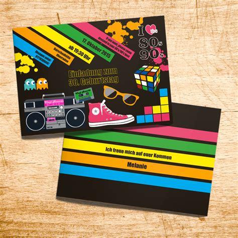 Hochzeit 80er by Einladungskarten 80er Kathyprice Info