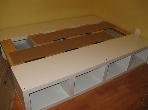 How To Make A Platform Bed Frame With Storage How To Build A Platform Bed With Storage The Best Bedroom Inspiration