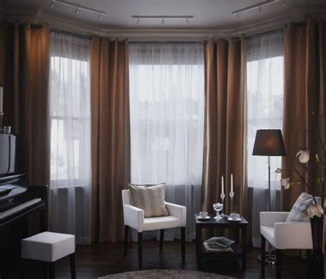 Sanela Curtains Inspiration Vittsj 214 Storage Combination Black Brown Glass Window Treatments Bedrooms And Cas