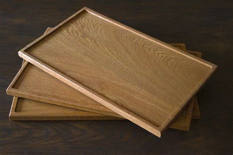 Handmade Trays - handmade oak tea trays makemesomethingspecial co uk