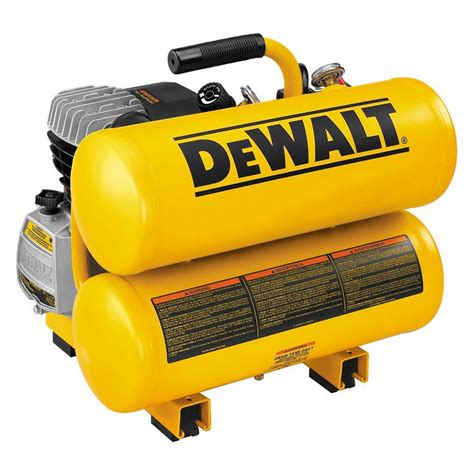 dewalt 4 gal portable electric air compressor d55153