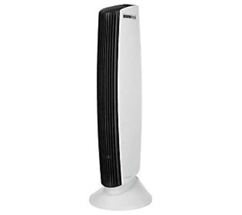 sharper image quadra ionic air purifier w 5 minute boost qvc