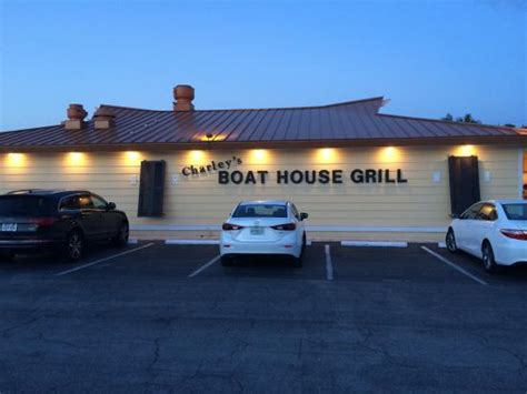 boat house grill charley s good food and view picture of charley s boat