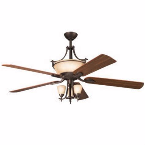 5 blade ceiling fan with light kichler 60 inch ceiling fan with five blades w uplight