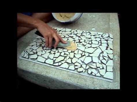 idea for tile art working how to create a mosaic tile art piece youtube