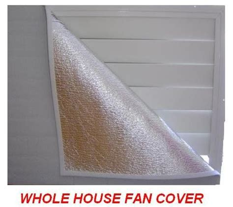 whole house fan with insulated doors 1000 images about whole house fan on pinterest hallways