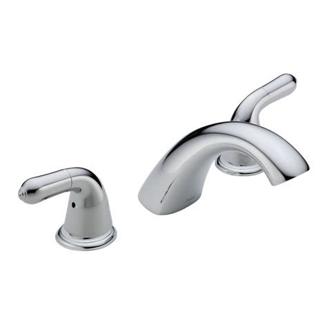 bathtub faucet knobs faucet com t2730 lhp in chrome by delta