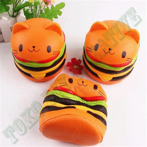 Squishy Kucing jual squishy kucing burger ori di lapak toko diy creative