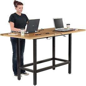 Computer Desk Outlet Computer Furniture Computer Desks Workstations Bar Height Computer Workstation Table With