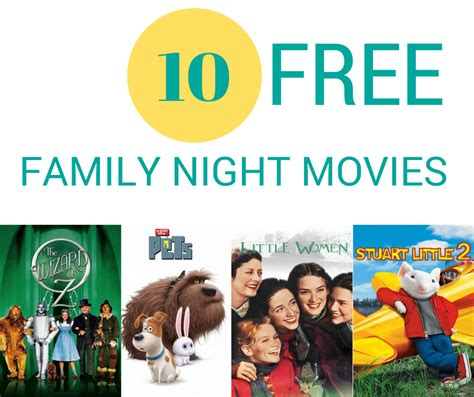 family movies 10 free movies for family night mooviesearch blog