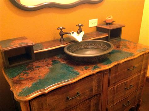 granite copper kitchen and bathroom countertop color copper counter tops copper countertop