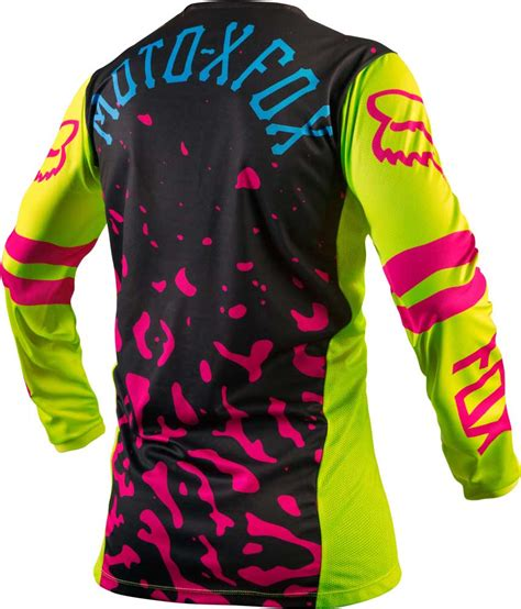 ladies motocross gear 2016 fox racing switch womens jersey motocross dirtbike