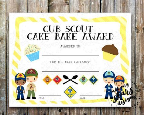cub scout certificate templates best 25 blank certificate ideas on blank