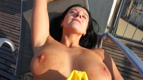 Busty Brunette Enjoys Outdoor Sex Xbabe Video