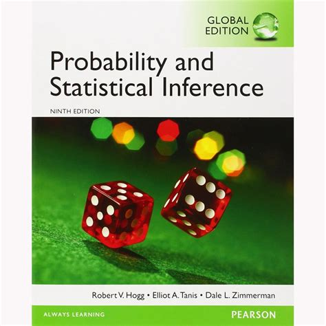 Probability And Statistical Inference 9th Edition probability and statistical inference 9th edition hogg 9780321923271