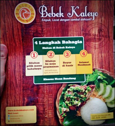 Bibit Bebek Di Bandung bebek kaleyo tempat makan enak murah dibandung kuliner