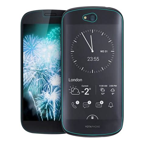 Tempered Glass Screen Yotaphone 2 2pcs For Yotaphone 2 Front Tempered Glass Screen